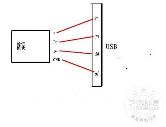 苹果充电器接线图
